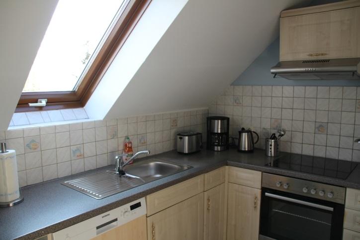 Ausstattung Ferienwohnung Küche