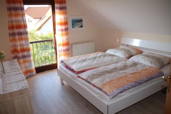 Ausstattung Ferienwohnung Schlafzimmer
