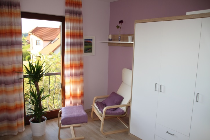 Ausstattung Ferienwohnung Schlafzimmer 2